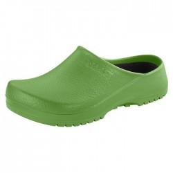 Birkenstock Zoccolo PU Verde Mela