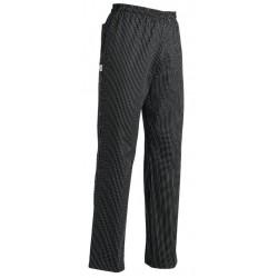Pantaloni Cuoco Superpant Gessato Nero