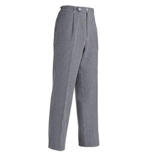Pantaloni Cuoco Classico Quadretto Leggero