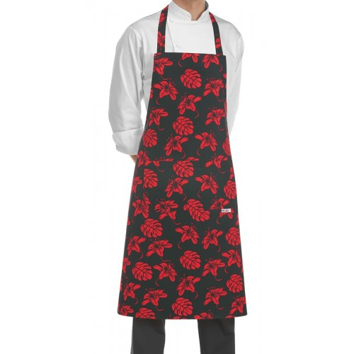 Grembiule Cuoco Pettorina Ibiscus