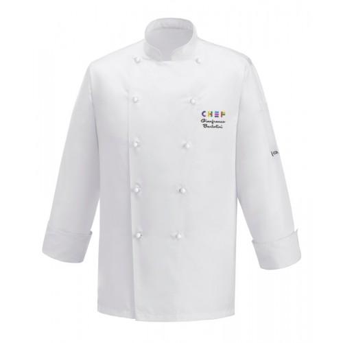 Giacca Cuoco Expo Chef Microfibra Bianca