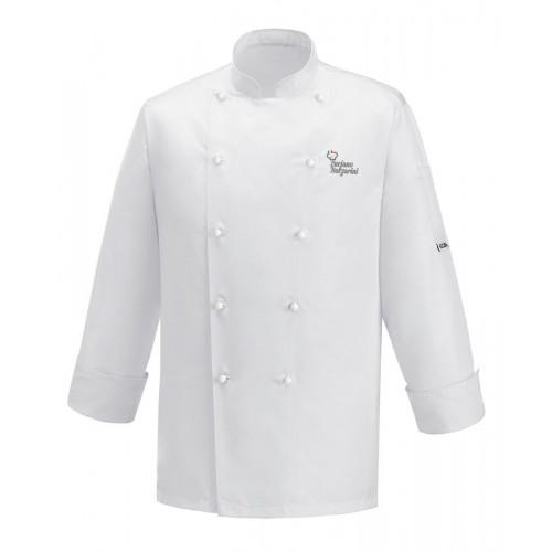 Giacca Cuoco Microfibra Bianca Chef per Passione