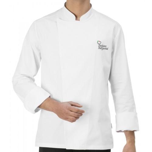Giacca Cuoco Mirko Bianca Chef per Passione
