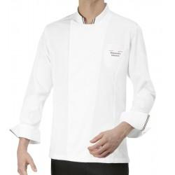 Giacca Cuoco Gianluigi Chef Italia Bianca