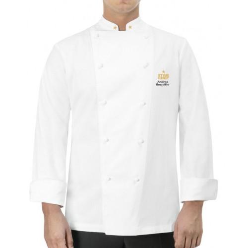 Giacca Cuoco Classica Star Chef