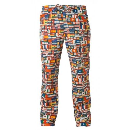 Pantalone Cuoco Bandiere