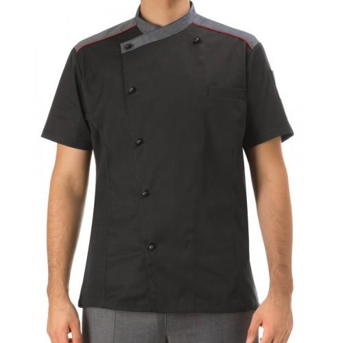 Giacca Cuoco Mattias Manica Corta