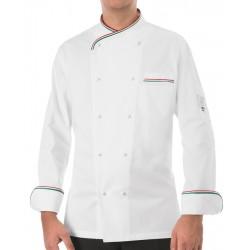 Giacca Cuoco Italia Bianca