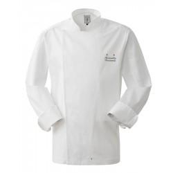 Giacca Cuoco Anton Elasticizzata Bianca Chef Stelle