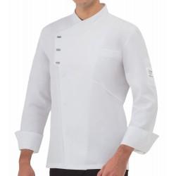 Giacca Cuoco Emanuel Tencel Bianca
