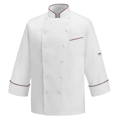 Giacca Cuoco Andrea Profilo Bordeaux