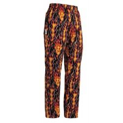 Pantaloni Cuoco Flames