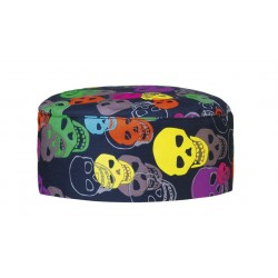 Tamburello Cuoco Color Skulls