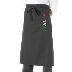 Grembiule Cuoco Nome Italia Nero