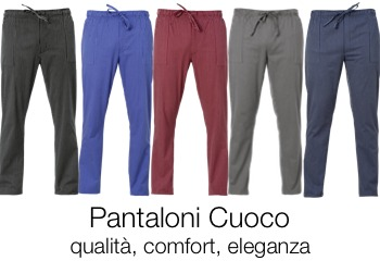 Pantaloni Cuoco - solochef.it