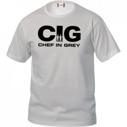 T-Shirt Chef in Grey