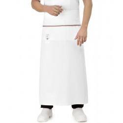 Grembiule Cuoco Alex Bianco Tricolore