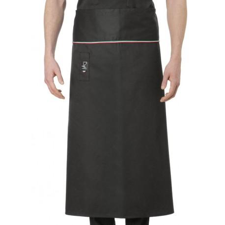 Grembiule Cuoco Alex Nero Tricolore