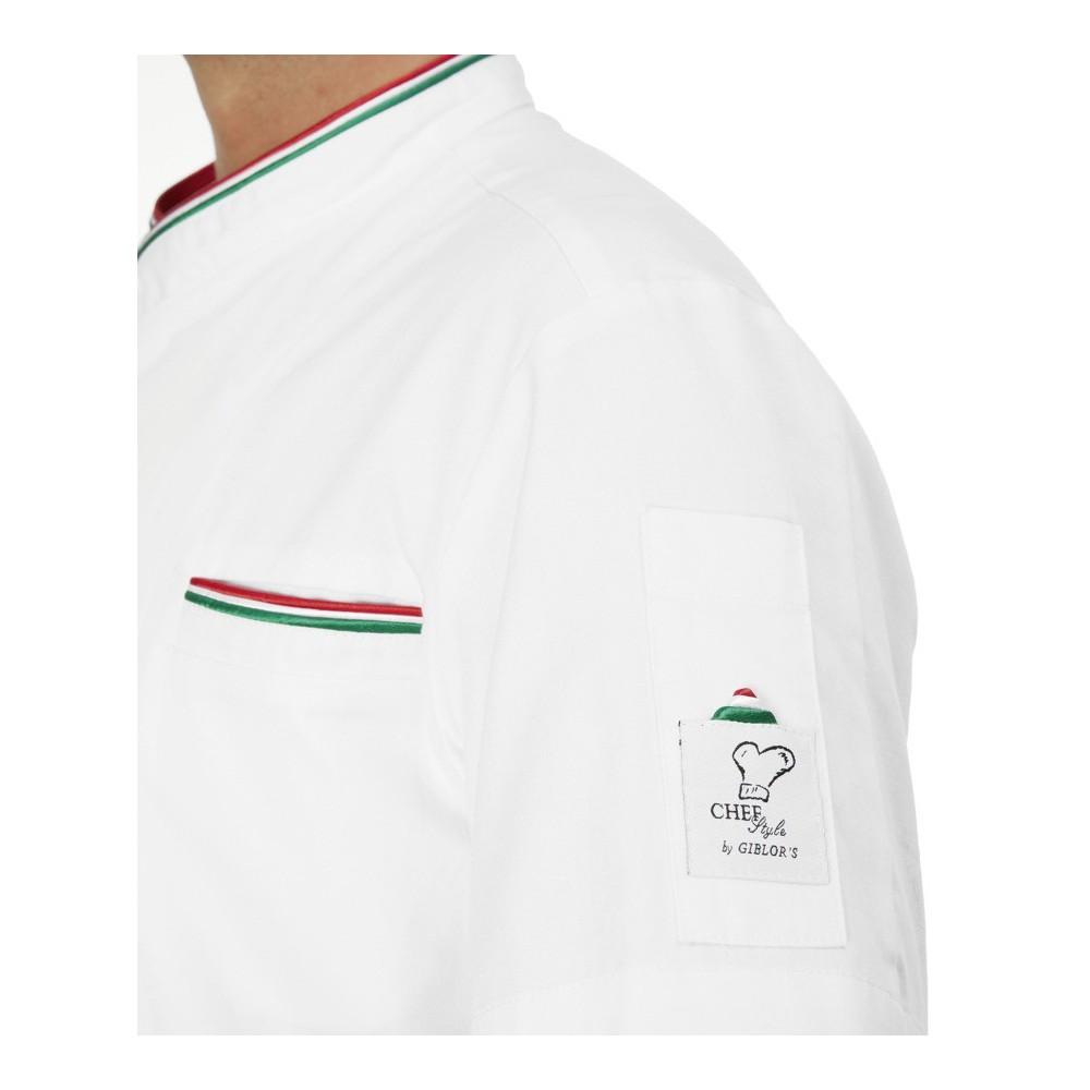 344266e949 Giacca Cuoco Thomas Maniche Corte - solochef.it