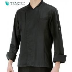 Giacca Cuoco Claudio Tencel Nera