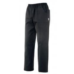 Pantalone Cuoco Nero Microfibra