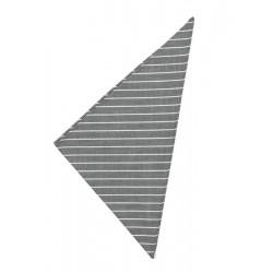 Fazzoletto Cuoco Grey Stripes