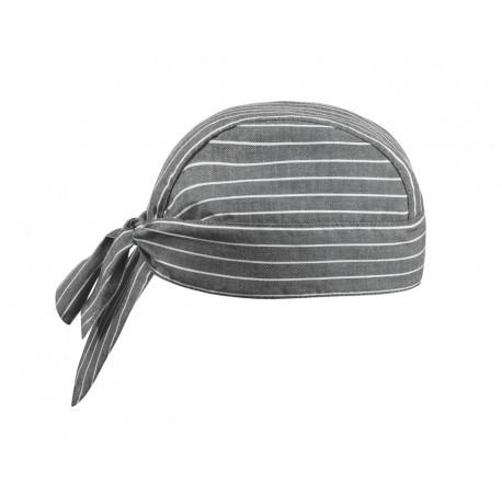 Bandana Cuoco Grey Stripes