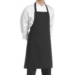 Grembiule Cuoco Pettorina Nero