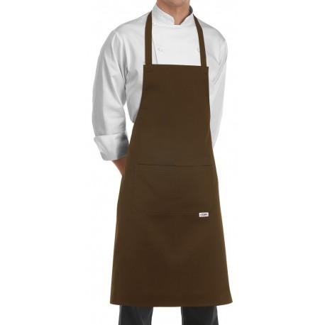 Grembiule Cuoco Pettorina marrone