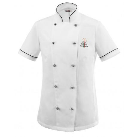 Giacca Cuoco Donna Dior 4 Stelle Microfibra