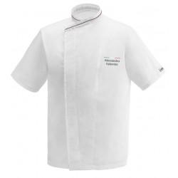Giacca Cuoco Jack Chef Italia Microfibra Manica Corta