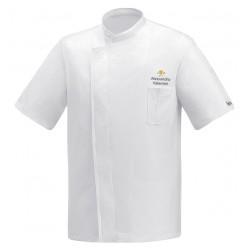 Giacca Cuoco White Air Plus Simbolo M/Corte
