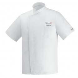 Giacca Cuoco Ottavio Bianco Ultraleggera Chef Italia M/Corte
