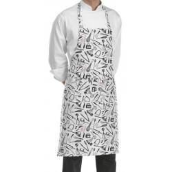 Grembiule Cuoco Pettorina Chefwear