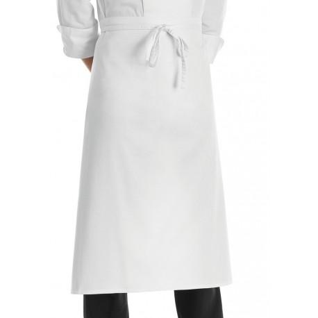 Grembiule Cuoco Vita Francese Bianco
