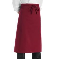 Grembiule Cuoco Vita Francese bordeaux