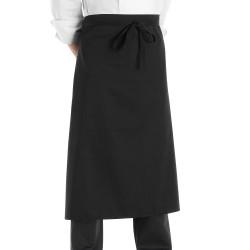 Grembiule Cuoco Vita Lungo Nero