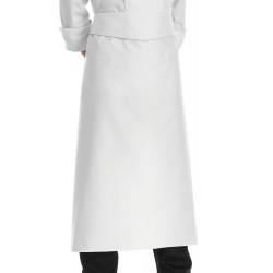 Grembiule Cuoco Vita con Balza Profilo grigio