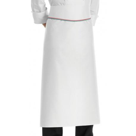 Grembiule Cuoco Vita con Balza Profilo Italia
