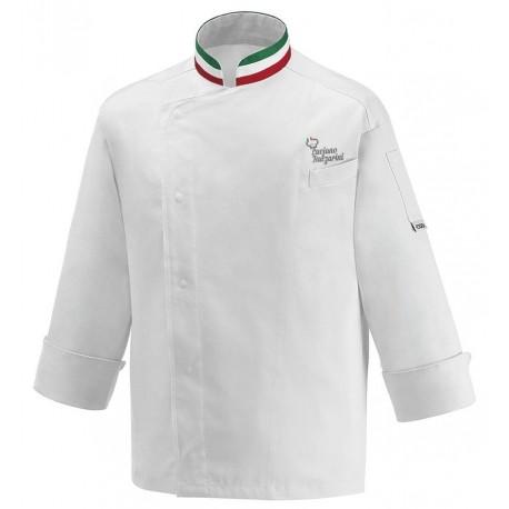 Giacca Cuoco Nation Satin Chef per Passione