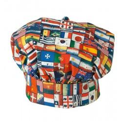 Cappello Cuoco Bandiere