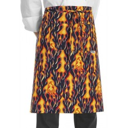 Grembiule Cuoco Vita Flames