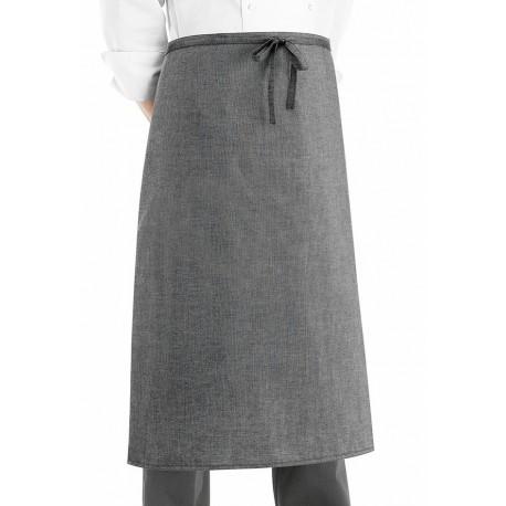 Grembiule Cuoco Vita Francese Grey Mix