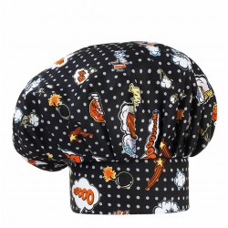 Cappello Cuoco Pop Art
