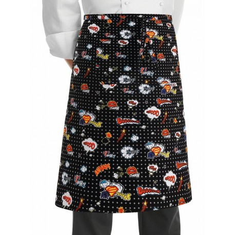 Grembiule Cuoco Vita Pop Art