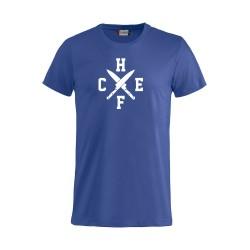 T-Shirt Chef Coltelli Azzurra