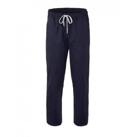 Pantalone Cuoco Stretch Blu