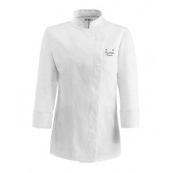 Giacca Cuoco Donna Bianca Chef Stelle