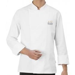 Giacca Cuoco Mirko Bianca Chef Stelle