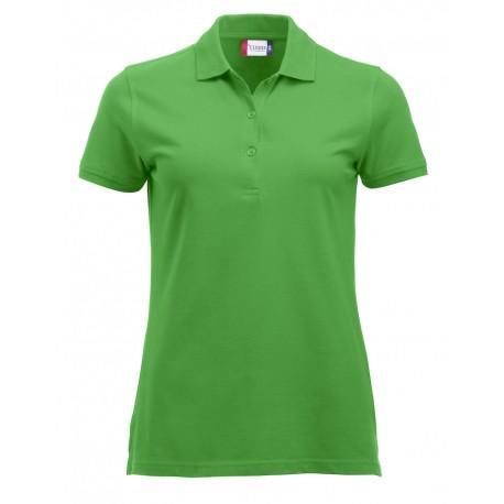 Polo Donna Manica Corta Verde